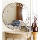 Круглое зеркало стены Венеци для домашнего украшения