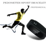 Montre intelligente rechargeable d'IOS Bluetooth d'Andorid du Pedometer 3D