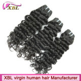 Weave волос оптовой продажи верхнего качества естественный бразильский
