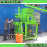 Máquina de bloqueio do tijolo da maquinaria Wt2-10 de Wante