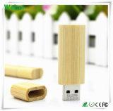 A movimentação de madeira a mais barata do flash do USB com garantia de 1 ano (WY-W13)