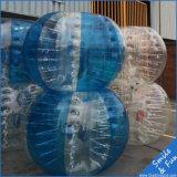 Aufblasbare Spielzeug-Stoßkugel-aufblasbare Kugel mit PVC0.8mm Größe 1.2*1m