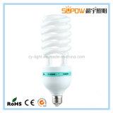 Компактное 15W энергосберегающее освещение светильника T4.5 14mm половинное спиральн