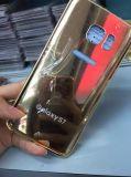 Галактика S7 Samsung аргументы за роскошного зеркала алюминиевая, край аргументы за S7 мобильного телефона