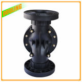 PA6 клапан дороги положения 2 материала 2 для управления воды с клапаном соленоида