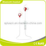 Fone de ouvido estereofónico sem fio de Bluetooth do esporte flexível em auscultadores de Bluetooth da orelha