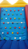 Infltable vendedor caliente Climbings&Hook y juegos de pared del bucle (2 en 1 juego de los deportes)