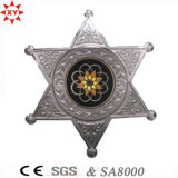 Police를 위한 높은 Quality Custom Logo Metal Badge