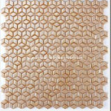 Series bianco Full Body Glass Mosaic con Hexagonal Shape (SHL100)