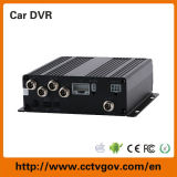 Mdvr do cartão SD para registro local 4CH H. 264 HDD Car DVR