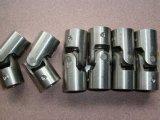 Alumínio do aço inoxidável, acoplamento de giro do acoplador do metal do CNC