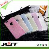 Caja colorida del teléfono móvil del brillo TPU para el iPhone 6s