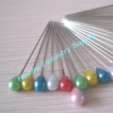 Großverkauf 55mm Colorful Teardrop Head Muslim Brooch Hijab Scarf Pins