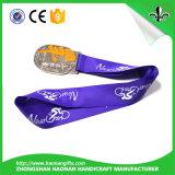 Kundenspezifischer Art-Satin-materieller preiswerter Preis-modernes Medaillen-Farbband