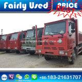 Verwendeter Sinotruck HOWO Kipper-LKW des HOWO Lastkraftwagens mit Kippvorrichtung
