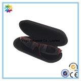 Ovale Form kundenspezifischer Reißverschluss EVA-harter Sonnenbrille-Kasten