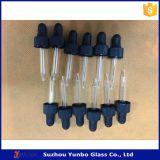 conta-gotas de vidro de 18mm Tamperevident para frascos de petróleo essencial verdes
