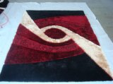 De Polyest do tapete tapete 100% de área de seda da telha do tapete de matéria têxtil