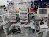 Головная самая лучшая конструкция 2 для крышки и плоской машины вышивки машины вышивки для сбывания