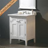 Gabinete de cuarto de baño moderno de madera sólida Fed-1901