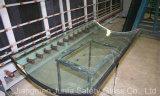 Vidro Tempered curvado (único vidro e vidro combinado com laminado ou IGU)