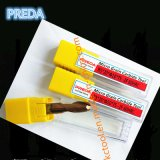HRC60 Preda 2/4 торцевых фрез носа шарика покрытия Ticn каннелюр бронзовых