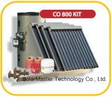 Type fendu solaire de tube électronique de chauffe-eau d'installation facile