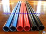 帯電防止および小さい摩擦ガラス繊維の管