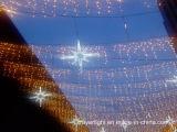 Efectos de la cascada LED de luz de Navidad del carámbano