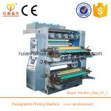 Печатная машина полиэтиленового пакета Flexo 4 цветов высокоскоростная