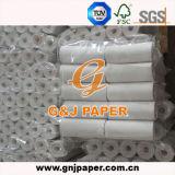 papel termal de la talla de 65GSM 57mmx30m m con talla de la base interna 8m m