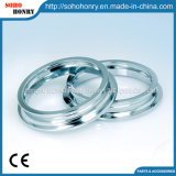 Anéis do aço inoxidável que giram para as peças de maquinaria de matéria têxtil