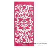 100%年の綿の多彩なデザインによって印刷されるベロアのビーチタオル