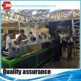 El marco de acero del calibrador de la luz de la red del techo de Xiamen lamina la formación de la máquina para los espárragos y los corredores del metal