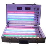 Situação de teste de prata do diodo emissor de luz da cor para o teste diferente da lâmpada do diodo emissor de luz