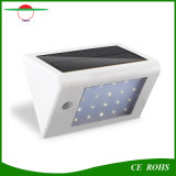 Luz solar sensible caliente de la pared del sensor de movimiento del LED 16LED/20 LED/32LED con el Ce RoHS
