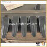 Delen van het Graafwerktuig van de Tanden van de Emmer van het Smeedstuk van het Type van KOMATSU PC400 de Duidelijke