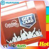 Suporte de cartão do presente da sociedade do PVC VIP MIFARE da impressão Offset RFID