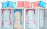 Garniture sanitaire féminine de coton bon marché remplaçable des prix