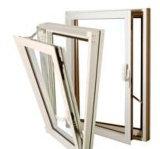 Vers l'intérieur d'ouverture de guichet de tissu pour rideaux arrêté par prix concurrentiel/aluminium a arrêté le guichet