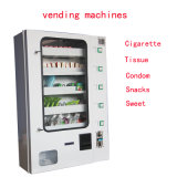 Máquina de Vending quente do &Cigarette do preservativo da venda no hotel