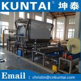 Máquina de estratificação material da sapata