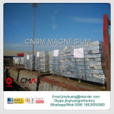 Mg9995最大99.98%への純粋なマグネシウムのインゴットMg 99.90%Min
