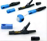 Conector rápido óptico de fibra con Sc, LC, St FC