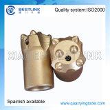 Utensile a inserti eccellente del cono della perforatrice da roccia del carburo di tungsteno di qualità