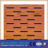 Pannello acustico perforato di legno del silenziatore