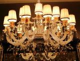 Luz de cristal moderna do candelabro da lâmpada do dispositivo elétrico de iluminação do pendente da decoração de Phine Swarovski