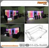Будочка торговой выставки ткани горячего сбывания алюминиевая с панелями будочки