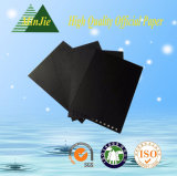 Cartulina impresa negra especial para la etiqueta del paño y de la manera