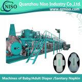 세륨 (YNK400-HSV)를 가진 기저귀를 만드는 안정되어 있는 효율적인 기계